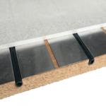 Dalle seche plancher chauffant