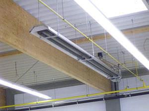 Chauffage plafond id e chauffage for Chauffage garage gaz
