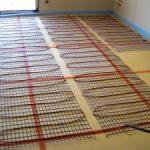 Plancher radiant électrique