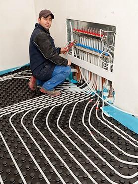 chauffage au sol avec pompe chaleur id e chauffage. Black Bedroom Furniture Sets. Home Design Ideas