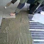 Carrelage sur sol chauffant