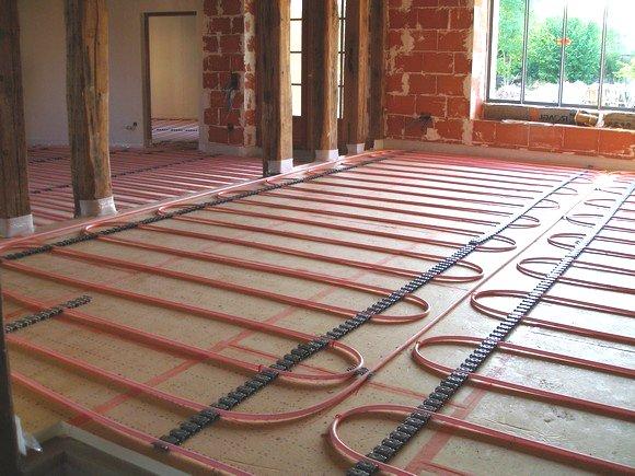 Pompe a chaleur pour plancher chauffant basse temperature id e chauffage - Plancher chauffant garage ...