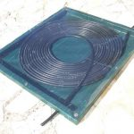 Chauffage piscine solaire artisanal