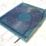 Chauffage piscine solaire tuyau noir
