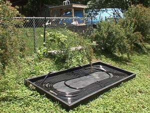 chauffage piscine solaire fait maison id e chauffage. Black Bedroom Furniture Sets. Home Design Ideas