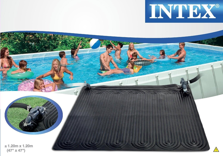 Chauffage piscine solaire intex