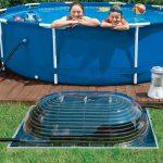 Chauffage solaire piscine 100m3