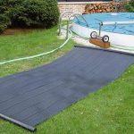 Chauffage solaire piscine dome ou tapis