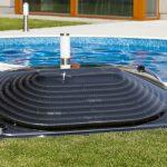 Chauffage piscine capteur solaire rond
