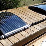 Chauffage solaire piscine bois
