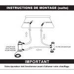 Chauffage électrique piscine intex