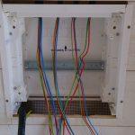 Tableau electrique fermé