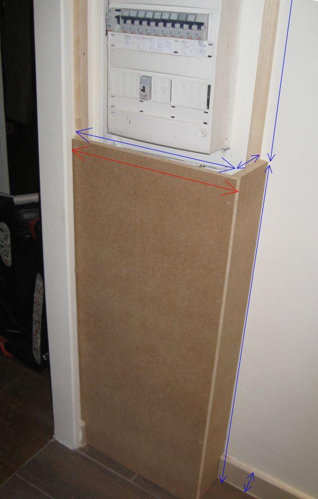 porte cache tableau electrique id e chauffage. Black Bedroom Furniture Sets. Home Design Ideas