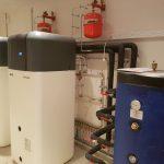 Pompe à chaleur avec production d'eau chaude