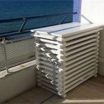 Caisson isolation phonique pompe à chaleur