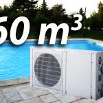 Pompe a chaleur piscine 60m3