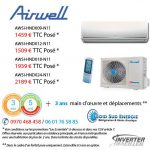 Piece detachee pompe a chaleur airwell