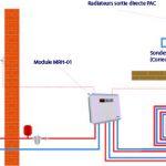 Pompe a chaleur eau eau avec radiateur