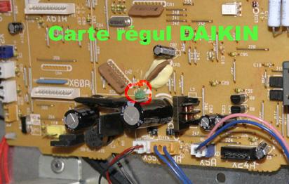 Carte electronique pompe a chaleur ajtech