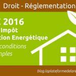 Reduction impot pompe a chaleur 2015