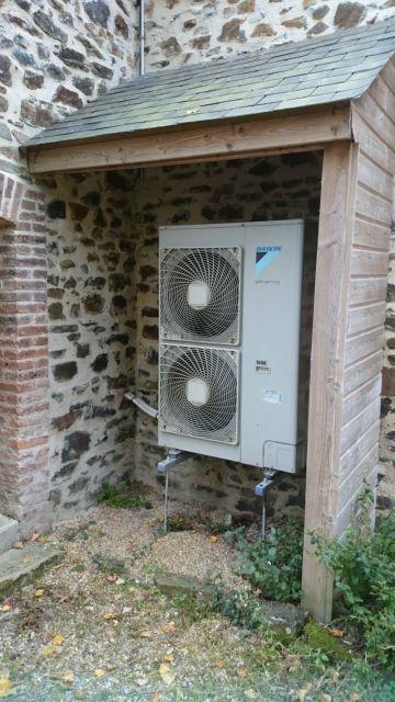 Abris pour pompe a chaleur