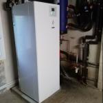 Installation pompe a chaleur air air hitachi