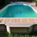Kit piscine semi enterrée avec pompe a chaleur