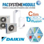 Pompe a chaleur systeme module