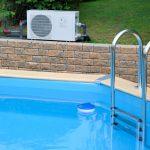 Emplacement d'une pompe a chaleur pour piscine