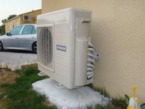 Depannage pompe a chaleur air air hitachi