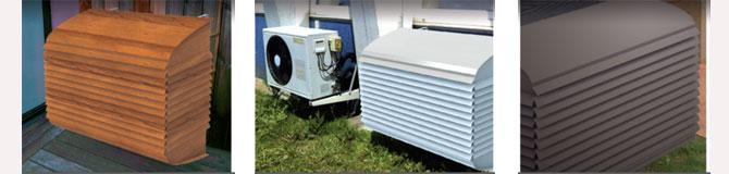 Protection pompe a chaleur exterieure
