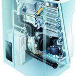 Chaudière gaz et pompe à chaleur