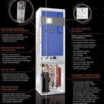 Chaudière électrique avec pompe à chaleur