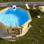 Pompe a chaleur piscine hors sol 15m3