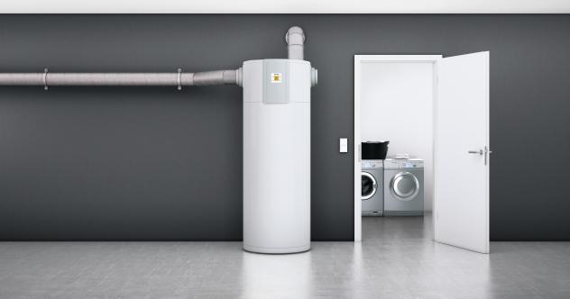 Boiler avec pompe à chaleur intégrée