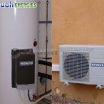 Pompe à chaleur réversible pour une pièce jusqu'à 60m2