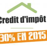 Credit d impot 2015 pompe a chaleur
