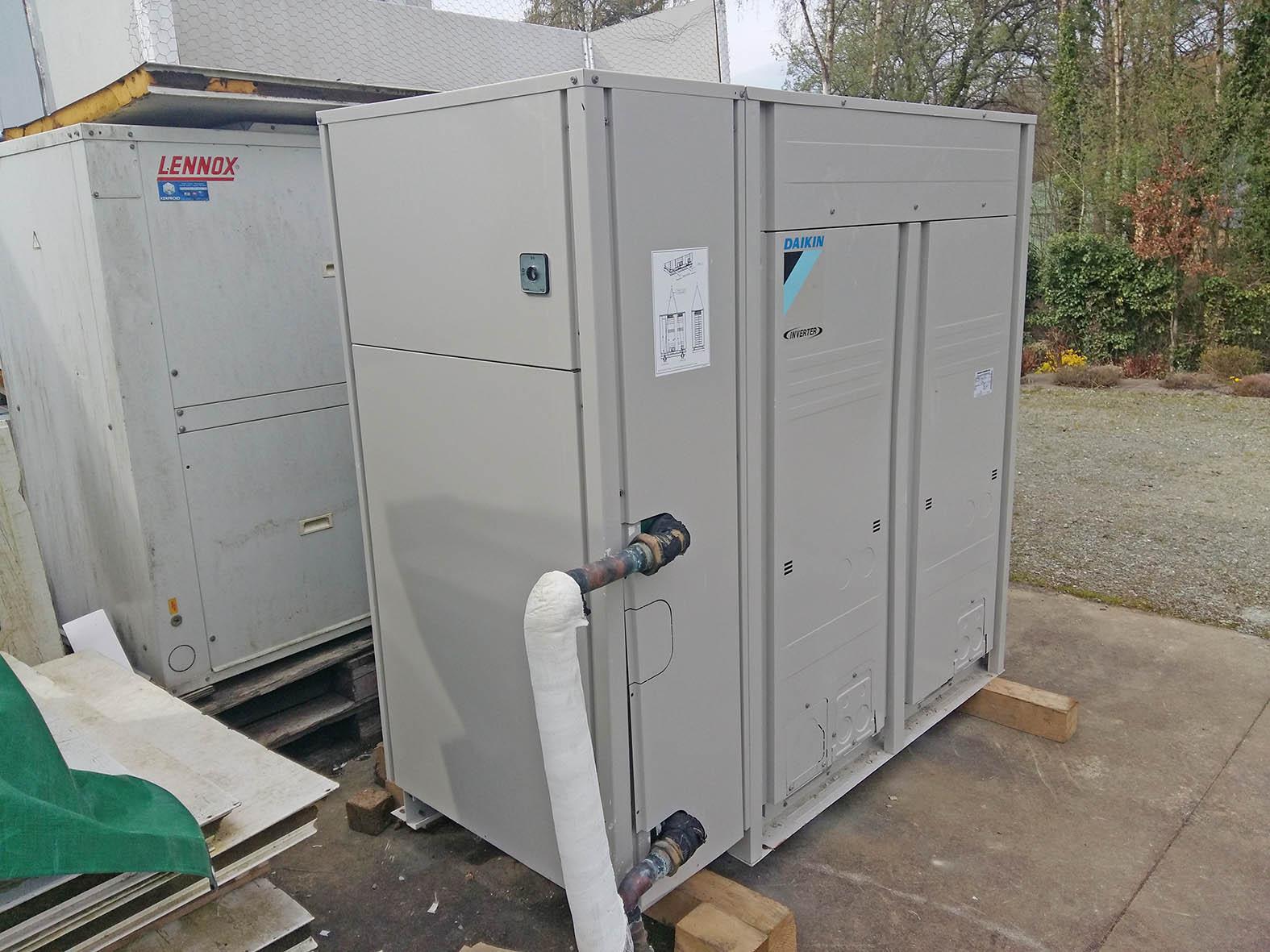 Pompe a chaleur air air destockage