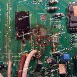 Carte electronique pompe a chaleur sanyo
