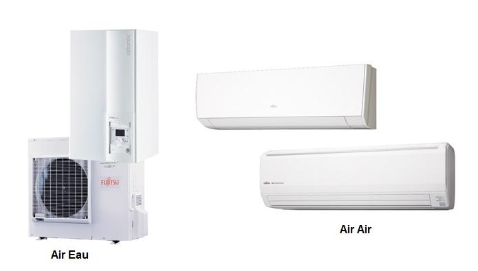 Radiateur pompe à chaleur air air
