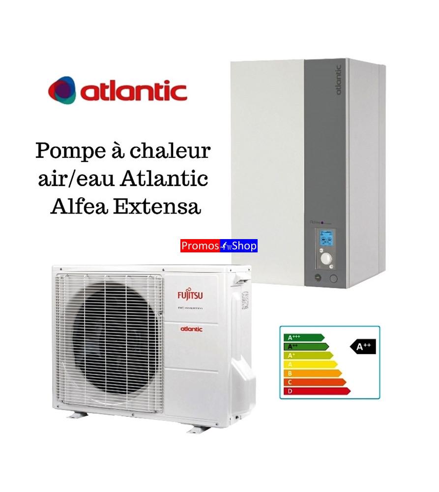 Pompe à chaleur air/eau split inverter atlantic