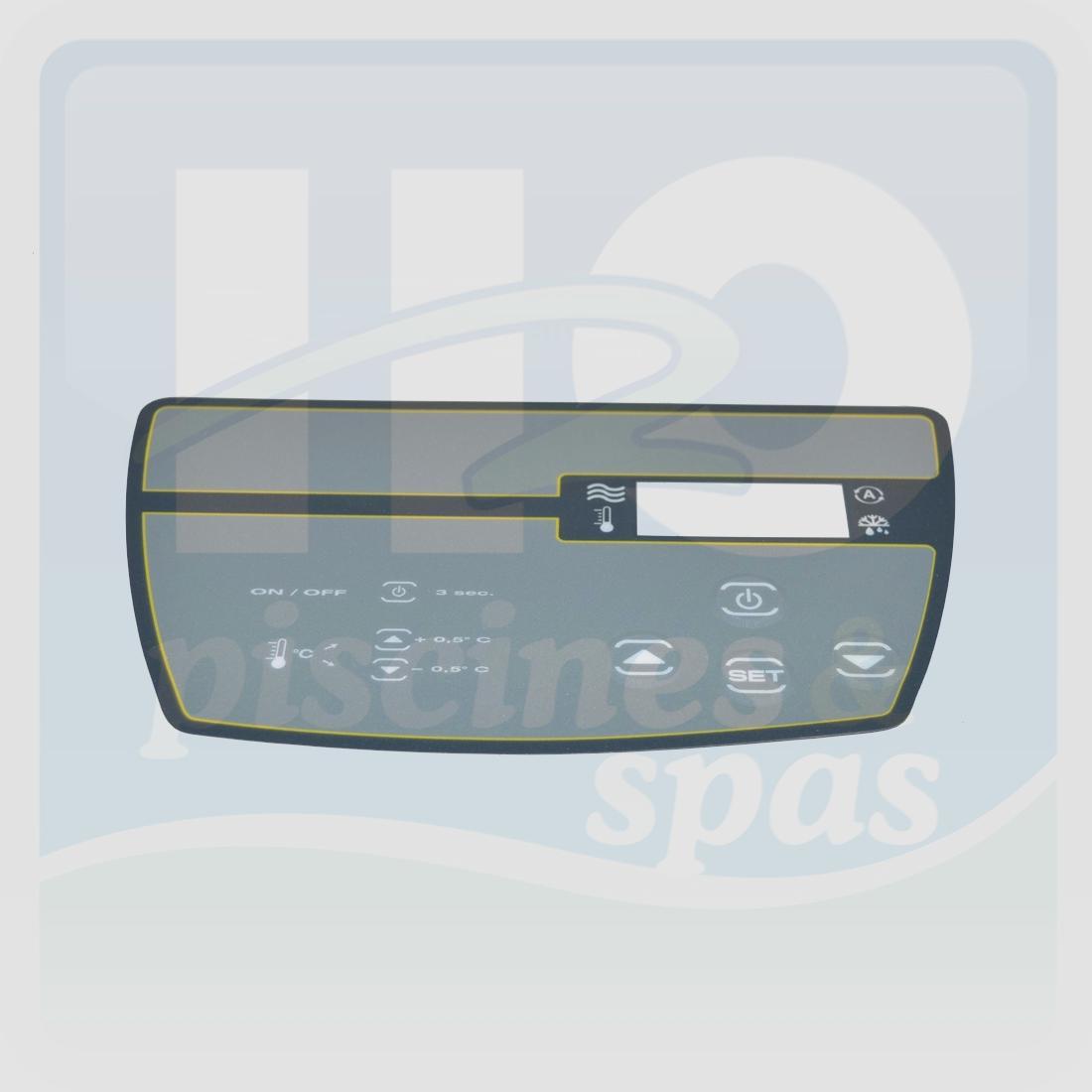 Pompe a chaleur piscine cristaline 30m3