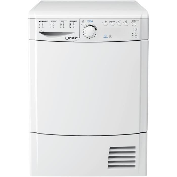 Vedette vsf57h2ds - sèche-linge - 7 kg - pompe à chaleur - classe a++