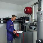 Installation d une pompe à chaleur