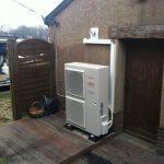 Installation chauffage pompe à chaleur