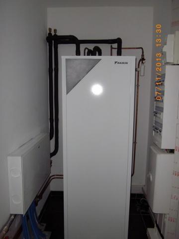 Pompe à chaleur daikin basse température