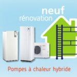 Pompe a chaleur air eau hybride