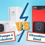 Comparaison pompe à chaleur chaudière mazout