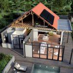 Panneaux photovoltaiques et pompe à chaleur