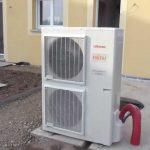Installation pompe a chaleur monobloc